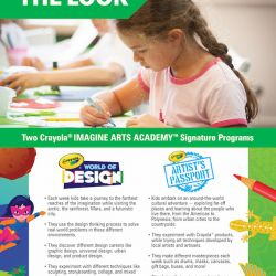 Crayola® IMAGINE ARTS ACADEMY™ – THE LOOK